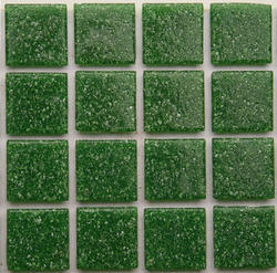 Green Glass Mosaic Tiles