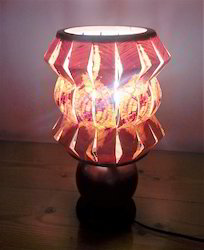 Zigzag N Round Table Lamp Small