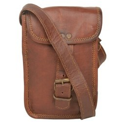 Genuine Leather Regular Messenger Bag 137