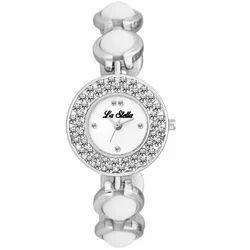 LA Stella Silver Ladies Wrist Watch, Model: LS1146SL01