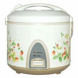 White Capacity(litre): 2.2lit Electric Rice Cooker, 220V