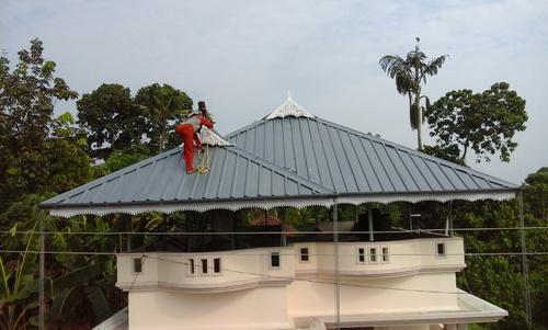 Truss Roofing Work Truss Roofing Works In Uliyannoor