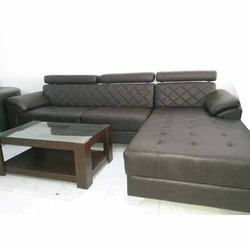 Fancy L-Corner Sofa Set