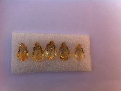 Fancy Shaped Citrine Gemstone