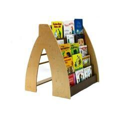 3-5 Feet Brown Book Display Rack, For Holding Books