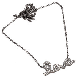 CZ Set Love Charm Necklace
