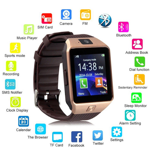 Dz09 Bluetooth Calling Smart Watch At Rs 749 Unit Smart Bluetooth