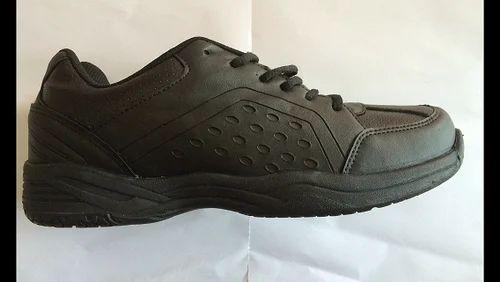 554d9cee6 Pu Sports Wear Nivia Black Shoes, Size: 1uk To 11uk, Rs 999 /piece ...