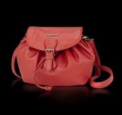 Fastrack Women Sling Bag Red