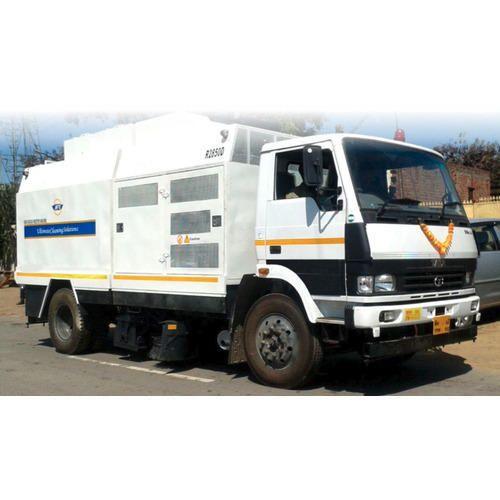 Road Sweeper Machine Truck Mounted Road Sweeper Machine