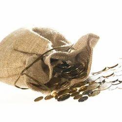 Jute Cash Bag