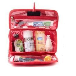 Red Toiletry Pouch
