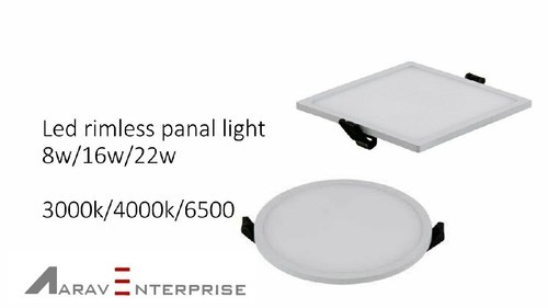 Trimless Panel Light