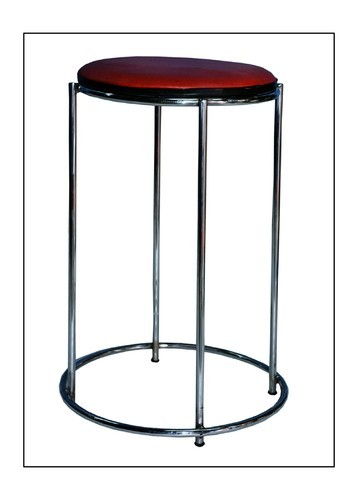 21inch Round Steel Stool Rs 825 Number Fine Furniture Id