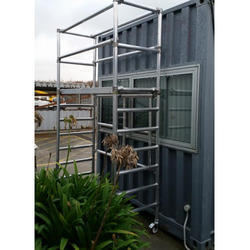 Single Width Mobile Tower Scaffold with Stairway for Rental