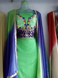 Green Punjabi dress