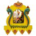 Wooden & Paper Mache Wooden Frame with Kundan Work