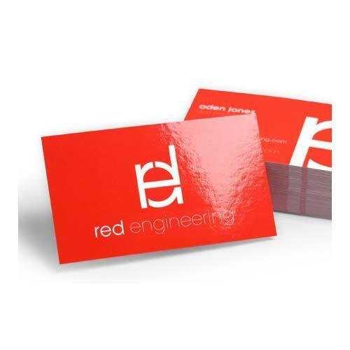 Gloss lamination visiting card printing in sector 40 gurgaon accu gloss lamination visiting card printing reheart Images