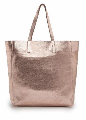 ac381ae97210e Bronze Metallic Leather Bag at Rs 1250  bag