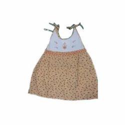 Infant Girls Cotton Jhabla