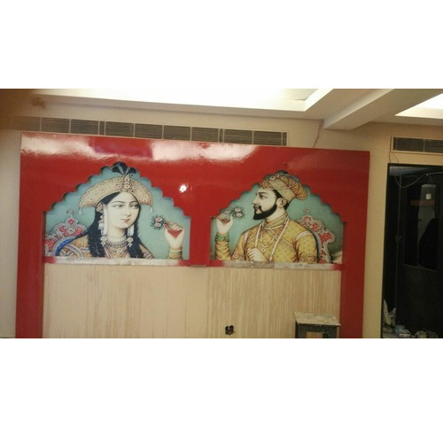 Mughal Style Wallpaper