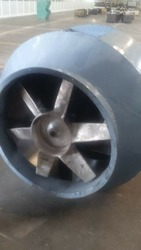 Bifurcated Axial Flow Fan