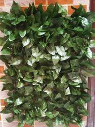 Hyperboles Green Leaves Vertical Wall Mat