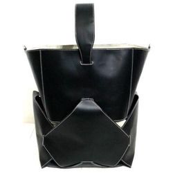 Leather Magazine Bag