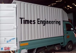 Container Body For Tata Ace Mahindra Supra Piaggio Atul 3 Wheeler, Capacity: 1-10 ton