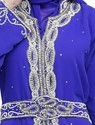 Beautiful Royal Blue Wedding Gown - Party Dress
