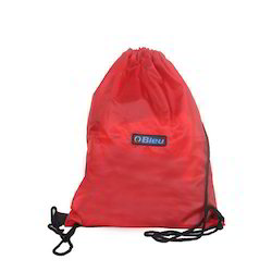 Red Backpack Drawstring Bag
