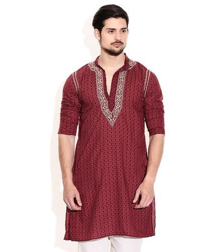 3d812815bcd Embroidered Mens Kurta