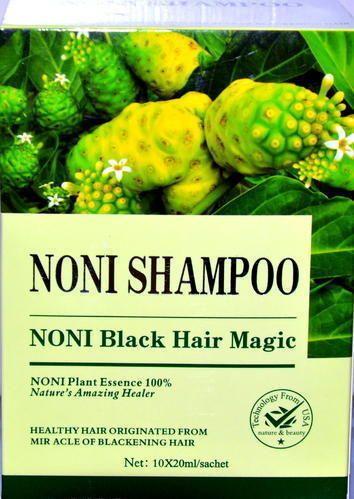 Noni Black Hair Shampoo, Pack Size: 20 ML, Rs 250 /box ...