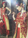 Designer Embroidered Readymade Suit