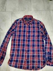 Casual Mix Check Shirt