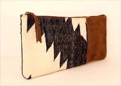 Kilim Leather Purses