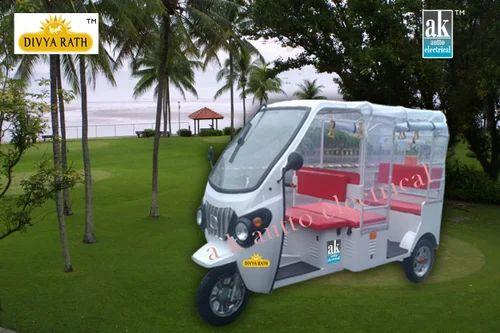 E-rickshaws - Divyarath Battery Operated Rickshaw Manufacturer from