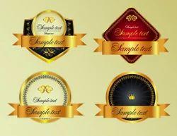 Liquor & Wine Label
