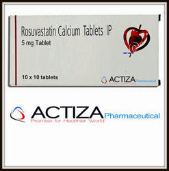 Rosuvastatin Calcium, Packaging Size: 1 X 10, for Personal