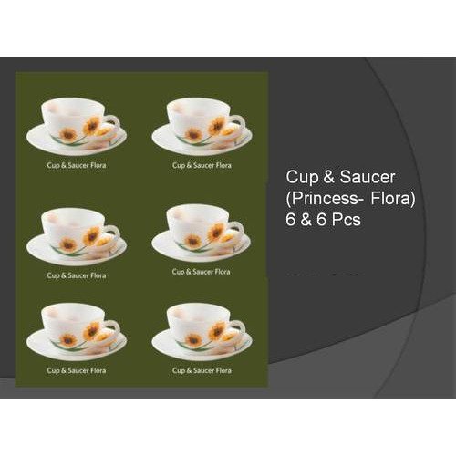 La Opala Cup And Saucer Set