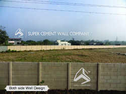 RCC Readymade Concrete Boundary Compound Wall