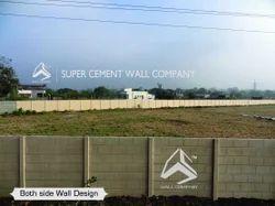 RCC Readymade Concrete Boundary Compound Wall
