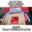 MDF Die Cutting Machine