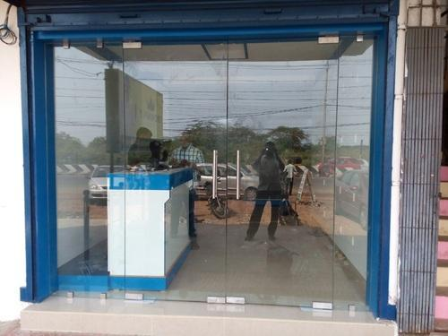 Clear Entrance Glass Door Size Dimension 3ft Width And