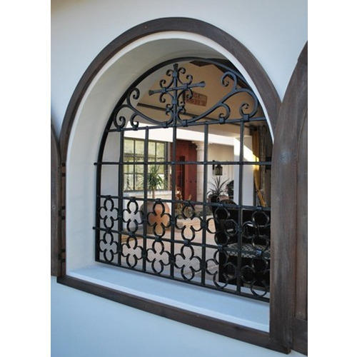 Half Round Window Grill, For Residential Purposes, Rs 125