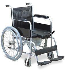 Commode Wheel Chair For Elder People