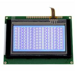 128x64 STN Blue LCD Module with Touch