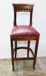 Wooden Bar Chair With Cushoning