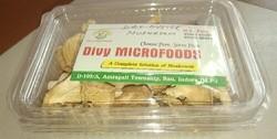 Dry mushroom flacks