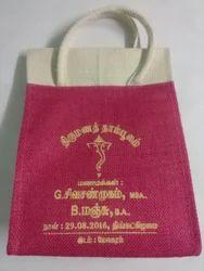 Jute Marriage Gift Bag